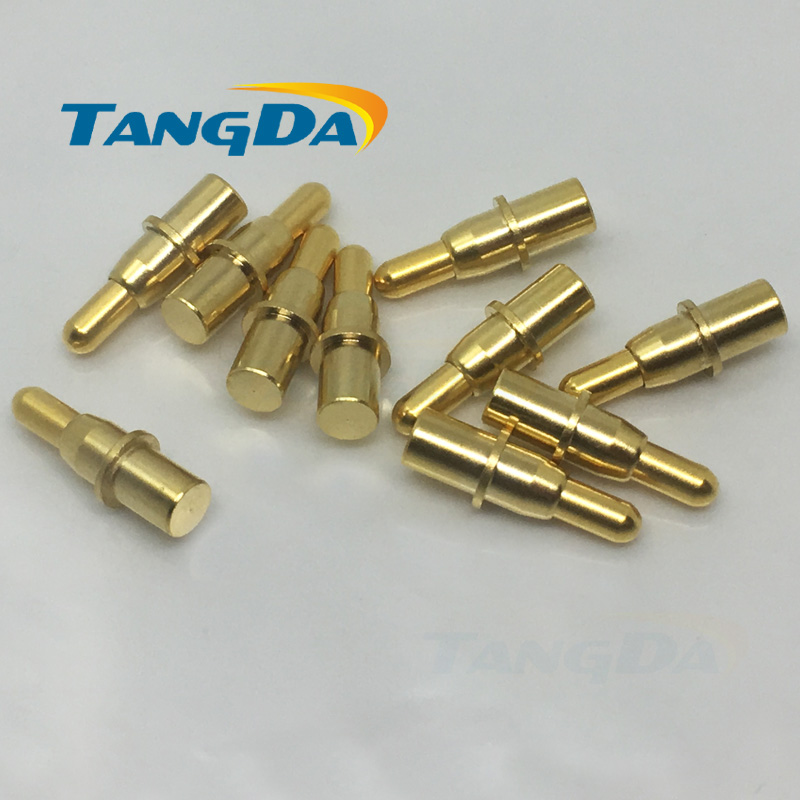 4 11.5 pogo pin Connectors 4*11.5mm Current pin Battery pin Test thimble probe Gold Plated  high-current 30V 3A Charge copper AW4 11.5 pogo pin Connectors 4*11.5mm Current pin Battery pin Test thimble probe Gold Plated  high-current 30V 3A Charge copper AW