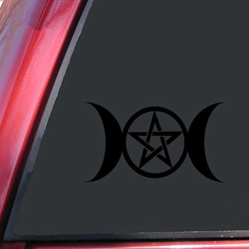 Wiccan Triple Goddess Car Sticker Auto Truck Window Laptop Fashion Vinyl Decal accesorios automovil