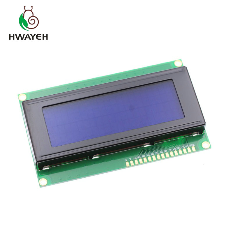 Free shipping  1pcs/lot LCD Board 2004 20*4 LCD 20X4 5V Blue screen blacklight LCD2004 display LCD module LCD 2004 for arduino free shipping 1pcs lot module stk0050 hyb 10
