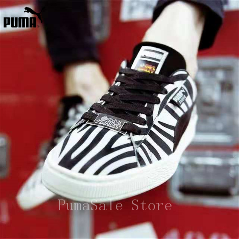 1e6890424ca PUMA Suede Classic X Paul Stanley Women Sneakers 36628801 Low Top Badminton  Shoes Women 50th Anniversary Sports Shoes Size 36 40-in Badminton Shoes  from ...
