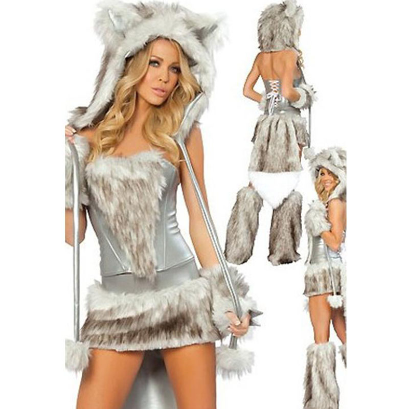 Sexy Wolf Cat Costume Dress For Adult Animal Cosplay Costume Halloween  Costumes For Women Disfraces Adultos - Online Get Cheap Wolf Halloween Costumes For Women -Aliexpress.com