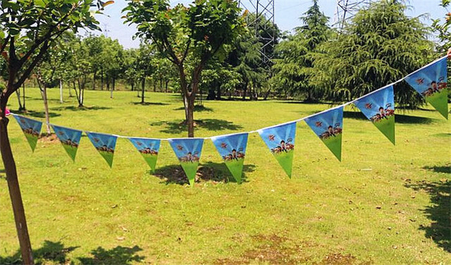 135pcs Pawed Patrolling Dog Disposable tableware Dog Pennats dinner set Baby Shower Party Banner Kid Boy Birthday Party Supplier