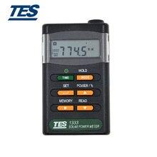 B35A TES-1333 измеритель солнечной энергии солнечные измерители мощности цифровой детектор излучения тестер солнечной энергии