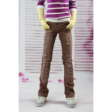 wamami 99 Brown Jeans Pants Trousers Outfit 1 4 MSD DOD LUTS BJD Dollfie