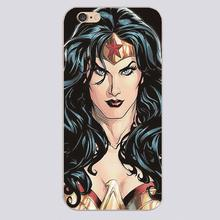 Wonder woman for mavel comic Luxury band Design case cover cell mobile phone cases for iphone