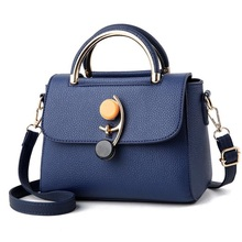 Luxury brand 2019 summer New Flap bag female PU leather handbag soft fashion Lock messenger Ladies shoulder