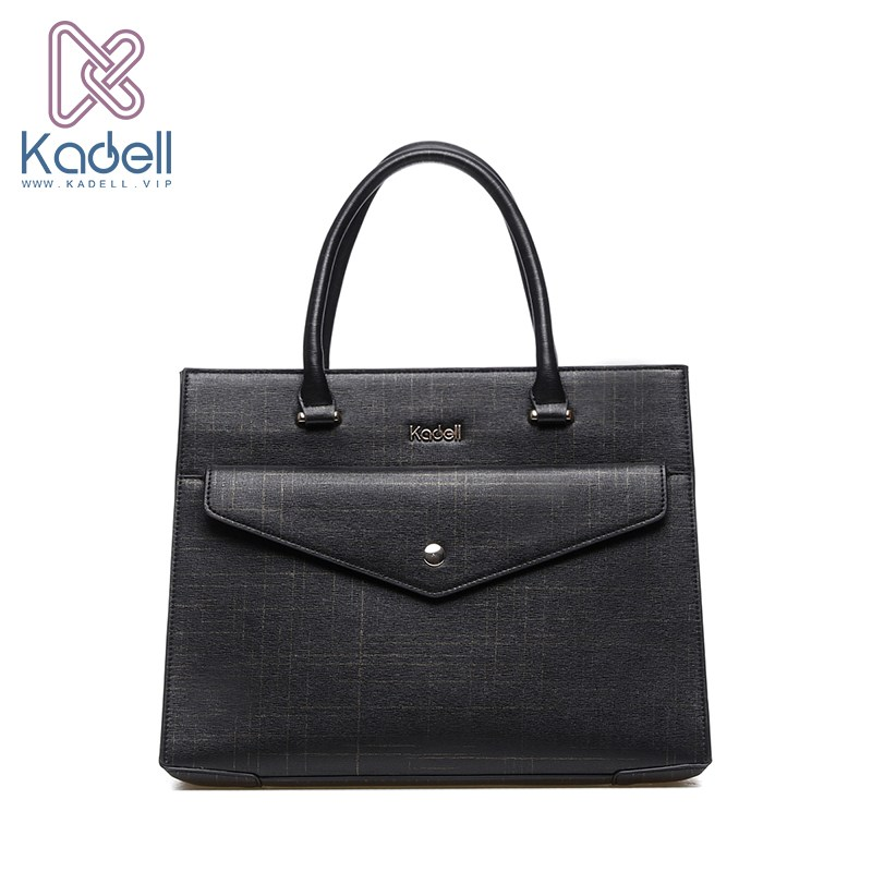 Kadell New Leather Luxury Handbags Women Bags Designer Casual Large Capacity Big Shoulder Flap Messenger Bags Business Briefcase kadell unisex handbags for men large capacity portable shoulder bags travel bags package soft pu leather retro bags women