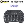 20 шт. i8 мини-клавиатура Air Mouse Английский Multi-Media литий-ионный аккумулятор для Windows, Android Smart TV BOX PC Мини-Ноутбуков Tablet ПК