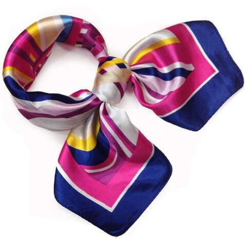 How sell 2018 BrandiS frans The new spring and summer printing small scarves occupation airline stewardess scarf