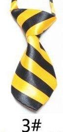 Модный галстук с принтом для мальчиков; Детский галстук; маленький галстук - Цвет: 03
