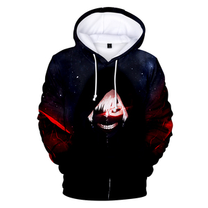 Image 3 - Tokyo Ghoul Hoodies Sweatshirts 2019Newest Fashion Funny Anime Hoodies and Sweatshirts 3d Tokyo Ghoul harajuku Hip Hop  Clothing