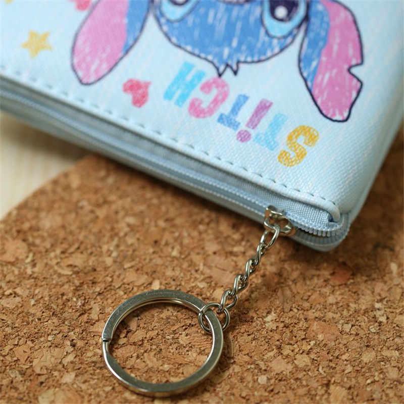 ดิสนีย์เด็กการ์ตูนกระเป๋าเหรียญ Mickey Mouse กระเป๋าเหรียญเด็กของขวัญกระเป๋าถือจี้คีย์กระเป๋าเด็กแพ็คเก็ตกระเป๋าสตางค์แช่แข็ง