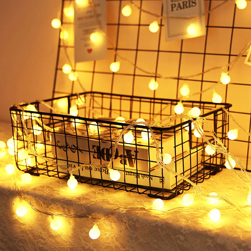 LBTFA 1M 3M Fairy Garland LED Ball String Lights Waterproof Led Lights Decoration Fairy Lights Christmas Lights New Year's Decor