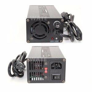 Умное зарядное устройство LiFePO4, 14,6 в, 20 А, 4S, 14,4 В, высокая мощность, с вентилятором, алюминиевый корпус