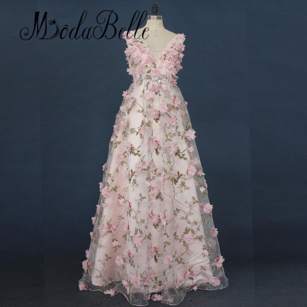 13125 21 De Descuentomodelos Hermosos Vestidos Para Adolescentes Flores En 3d Vestidos Largos De Graduación Con Diamantes De Imitación Vestidos