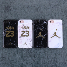Michael Jordan Marble Phone Case iPhone 6 6s Plus 7 7 Plus 8 Plus 10 X