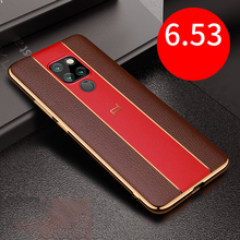 Leather Phone Cases For Huawei P20 Mate10 Mate20 Ultra-thin design Business Case