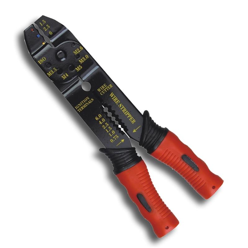 Werkzeuge Sammlung Hier 8 Zoll Multi Elektriker Crimpzange Abisolieren Zange Kabelpressen Kabel Schneidwerkzeug Handwerkzeuge Buy One Give One