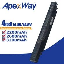 14.8v Battery for Asus X450 x550a X550V X550C X550A X550CA R510C A41-X550 A41-X550A A450 A550 F450 F550 F552 K550 P550 X550L new laptop lcd cable for asus x550 x550va x550l x550c x550d 1422 01m6000