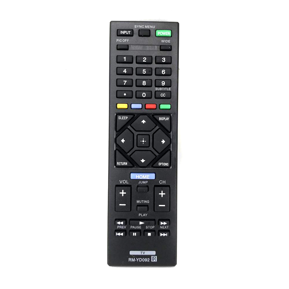 New General For Sony RM-YD092 Generic KDL-32R300B KDL32R330B TV Remote Control Free Shipping