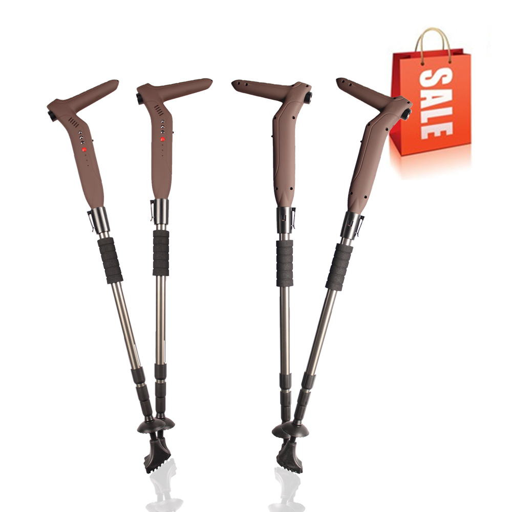 Smart Walking Stick with LED Flashlight, FM Radio & MP3 Player, GSM Calling & SOS Emergency Button & GPS Tracker with Free APP