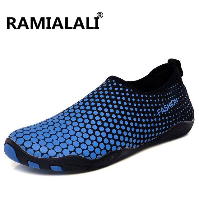 f4f4e10713e4ae Ramialali nowy letni mężczyzna buty do wody na zewnątrz buty do pływania  buty plażowe damskie trampki