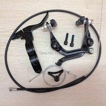 Фотография 2015 new BMX brake  (folding) right brake handle full set after the line clamp bicycle parts BMX parts V-brake  U-brake