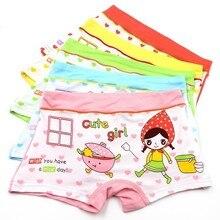 (5) Unids/lot Bocher Girls Underwear Princess Boys Babies Lovely Pants Sous Vetement Femme Majtki