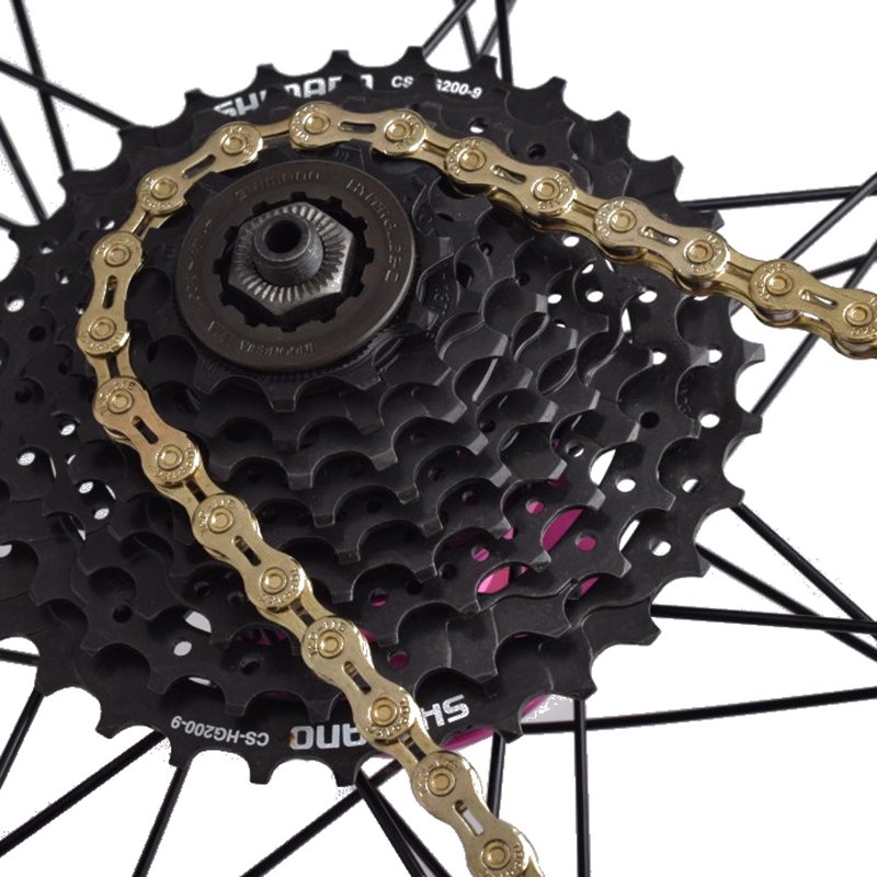 US MTB Road Bike Chain Steel Bicycle Chain 9//10//11 Speed Chain 116L For Shimano