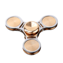 Hot Hand Spinner Fidget Finger Gyro Puzzle Toy Alloy EDC Hand Spinner For Autism Toys Hobbies