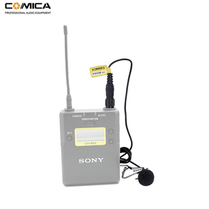 Image 4 - Comica CVM M O2 3.5mm Lavalier Microphone Omnidirectional Lapel Microphone for Sony Wireless Microphone Transmitter