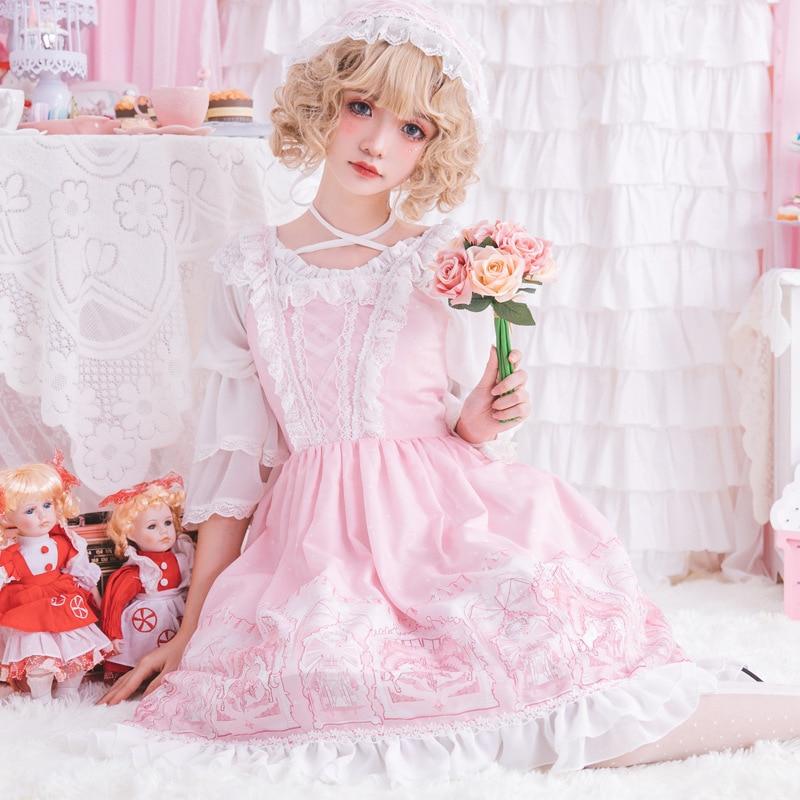 Lolita robe Lolita fille Lolita jupe horizon robe - 3
