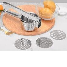 Нержавеющая Картофельная машина и Ricer ручная соковыжималка пресс картофель детское питание Дополнение машина кухонные инструменты