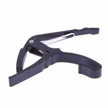FE5# Classic Guitar Quick Change Clamp Key Black Guitar Capo For for Electric and Acoustic Tuba Guitar Drop Shipping