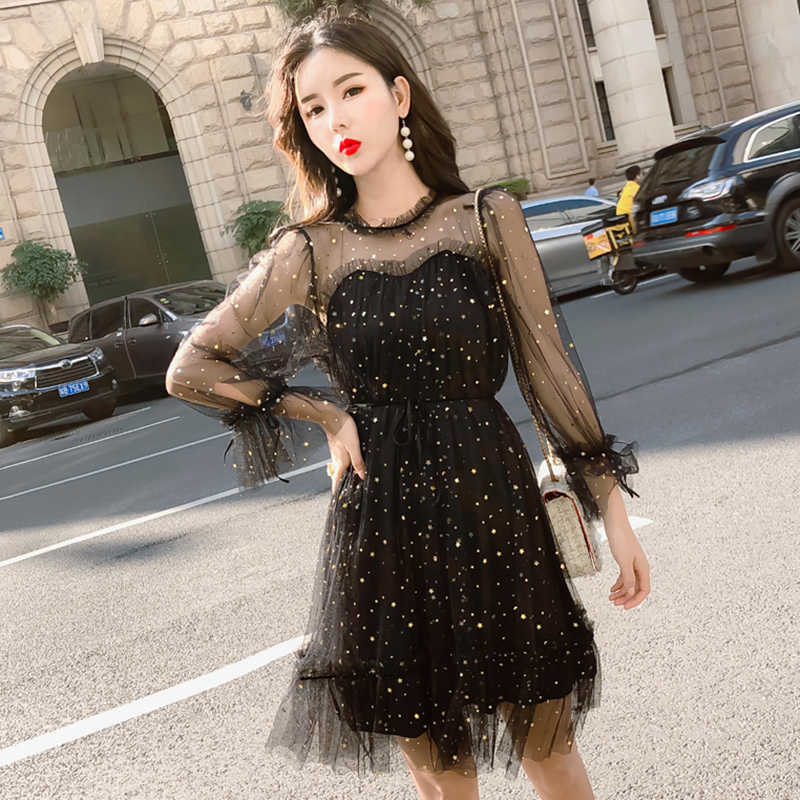 72c2b6c9b0 Star Dress Women Summer Lace Sexy Work Dress Womens Clothing 2019 Pleated  Female Office Wear Long