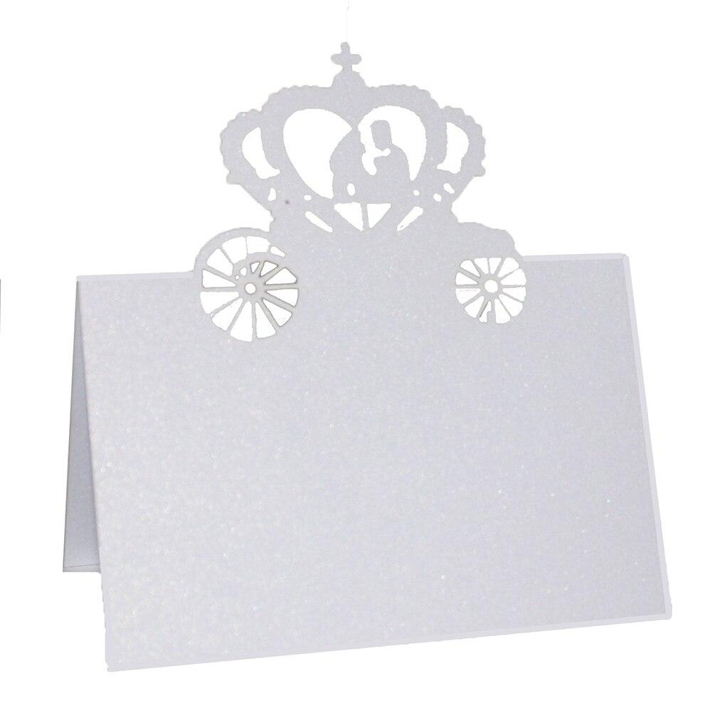 Pumpkin Car Wedding Name Place Card,Table Name Card,Table Description