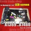Новый Для Apple Macbook Air 13.3 дюймов A1466 A1369 MC503 MC504 MC965 MC966 MD231 MD232 MD760 MD761 ЖК-Экран Ноутбука Сборки