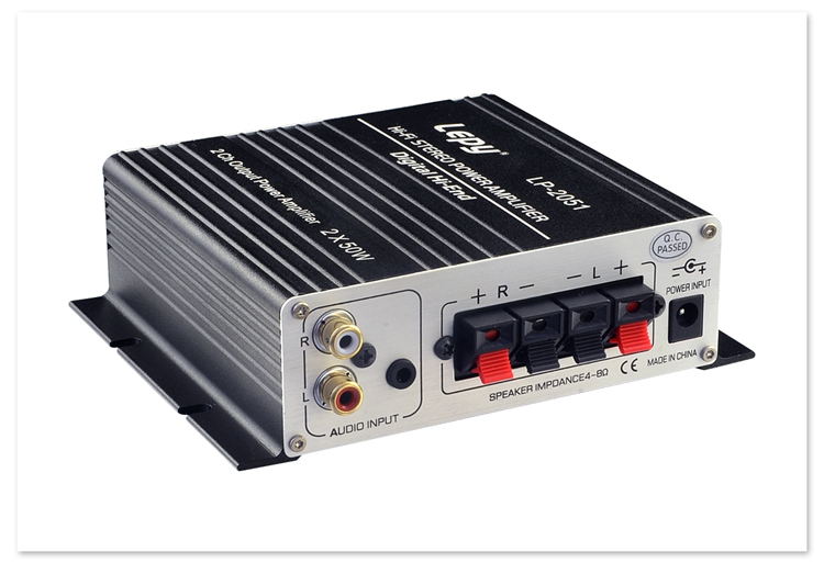 Send digital high-power borne power amplifier, high fidelity HIFi borne power amplifier tone TK2051 fever class amplifier
