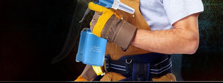 LAOA Industrial Grade Cordless Pneumatic Rivet Gun Hitter Riveter Air Gun Work ability 2.4mm/3.2mm/4mm/4.8mm Work Range 16mm