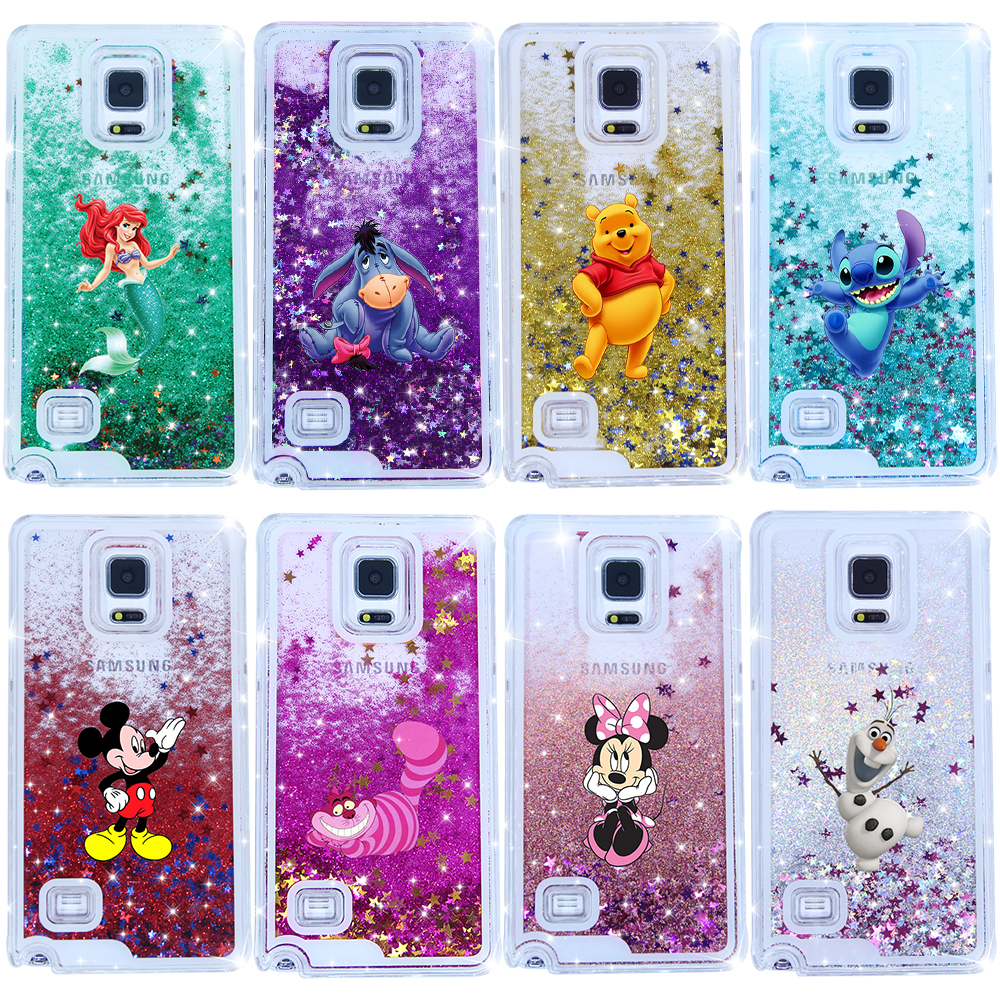 58add92a2c7 Detail Feedback Questions about Hot Sales Alice in Wonderland Sparkling Liquid  Quicksand Case Cover For Samsung Galaxy Note 4 on Aliexpress.com