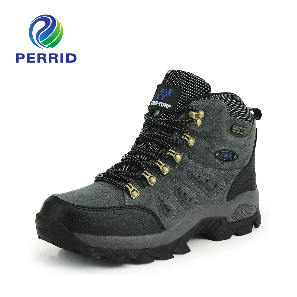 Real Original Brand Winter Athletic Rubber High Top Lace Up Outdoor Sport Snow Ski Trekking font