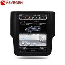 """Asvegen Vertical 10,4 """"Android Car Radio para Dodge Ram 2014, 2015, 2016, 2017 Autostereo Wifi Multimedia reproductor de DVD GPS navegación"""