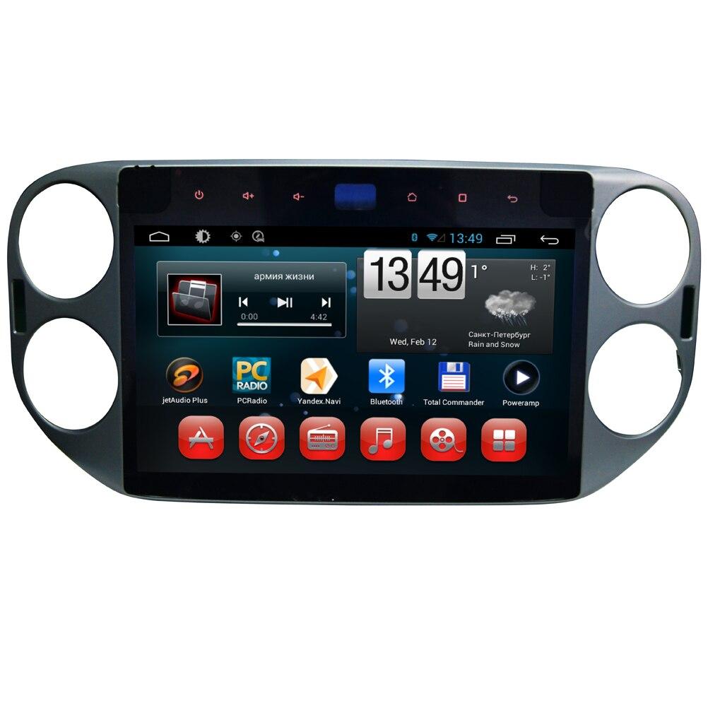 Navigation automatique de GPS d'android 10.1 de wanhabituel 6.0 pouces pour le lecteur de Radio de VW Tiguan avec des cartes de Bluetooth WIFI 3G 1024*600 Quad Core 16G