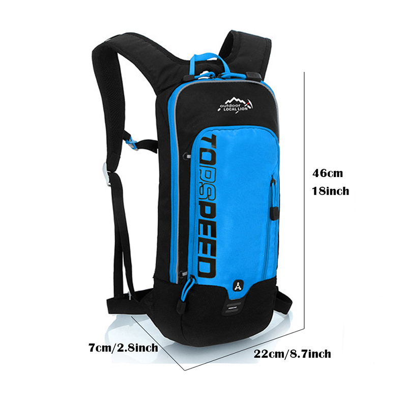 5c1cb4ac421 LOCAL LION 6L Waterproof Bicycle Backpack,Men's Women MTB Bike Water Bag,Nylon  Cycling Hiking Camping Hydration Backpack-in Bicycle Bags & Panniers from  ...