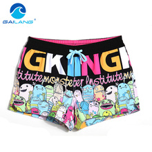 Gailang Brand 2017 New Women shorts Trunks Woman Swimwears Swimsuits short bottoms boardshorts bermudas masculina de marca