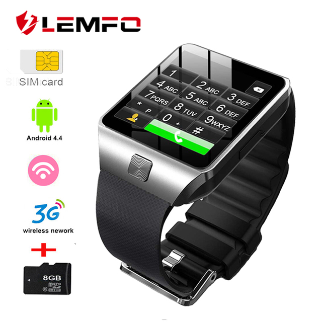 US $33 99 30% OFF|LEMFO QW09 Android 4 4 Smart Watch 300 mAh Smartwatch  Support APP download Weather Forecast Multiple dials for Smart Watch Men-in