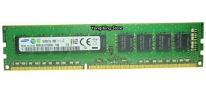 Image 2 - سامسونج DDR3 2GB 4GB 8GB 1333MHz 1600MHz نقية ECC UDIMM خادم الذاكرة 2RX8 8G PC3L 12800E محطة العمل RAM 10600 12800 غير مخزنة
