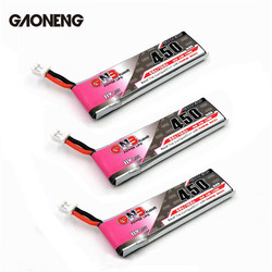 3 / 5 / 10 PCS GAONENG GNB 4.35V 450mAh 1S 80C HV Battery PH2.0 Plug White Plug Connector For E010 M80S Tiny7 RC Models