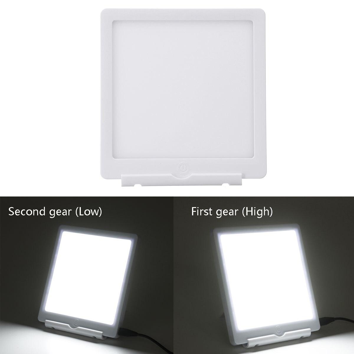 6000/10000Lux счастливая фототерапия терапия лампа грустный ночник аффективное расстройство USB настольная лампа светящаяся светодиодная рельеф...