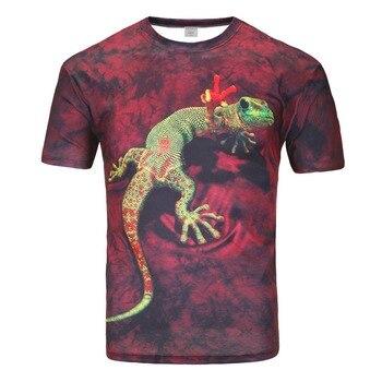 Funny Lion Print T-Shirt